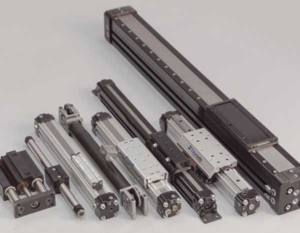 Pneumatic Rodless Actuators