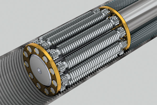 Inverted Roller Screw Design