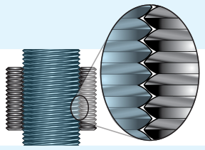 Tolomatic Roller Screw/Nut Diagram