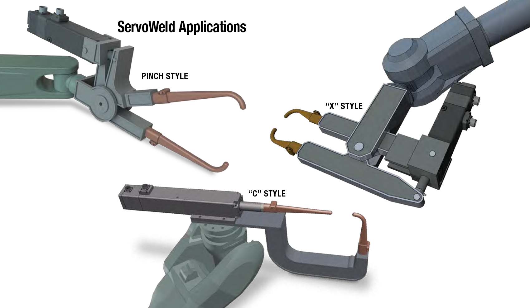 ServoWeld Weldgun Applications