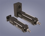 Motor mounting for electric linear motion