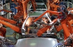 Electric servo actuators and welding robots build better autos faster