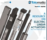 Electric linear motion.  Selecting linear actuators.