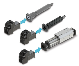 ACSI shown with range of linear actuators