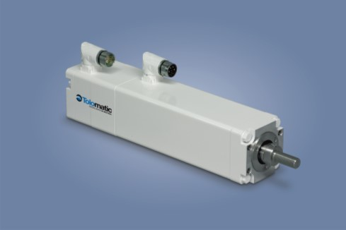 IMA integrated servo actuator with food grade white paint