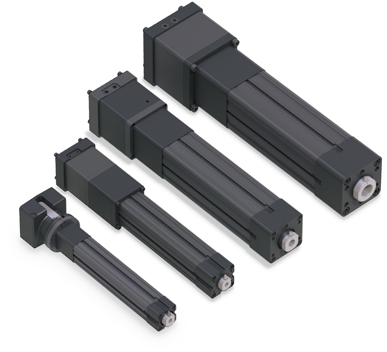 heavy duty high force electric rod actuators electric cylinders